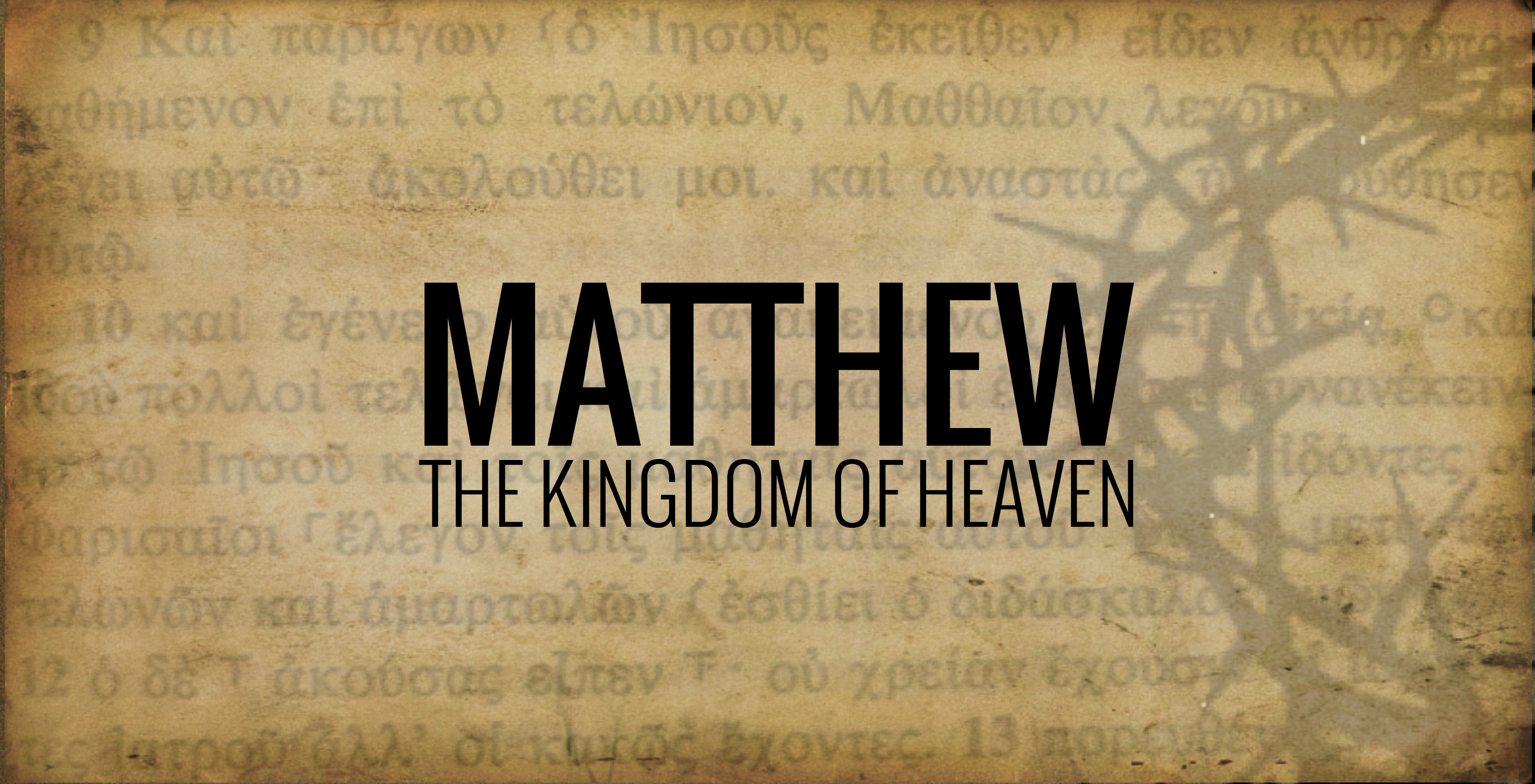"""the gospel of matthew The gospel of matthew is also the only book to point out that jesus came """"not to  abolish the law, but to fulfill it"""" and that """"not the smallest letter, not the least."""